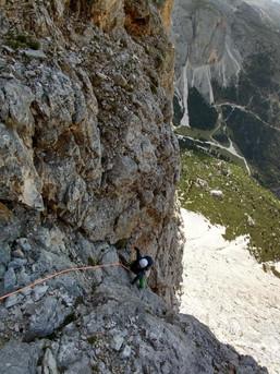 Klettern in den Dolomiten - Piza dl Lech