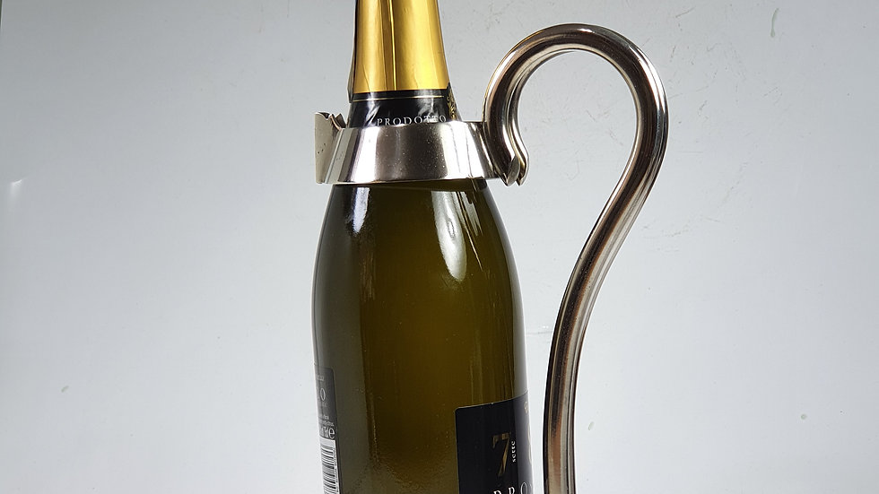 RARE MAPPIN & WEBB SP CHAMPAGNE/WINE BOTTLE HOLDER C1900
