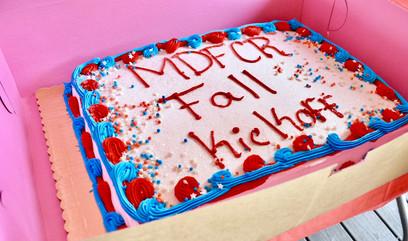 Fall Kickoff Cake