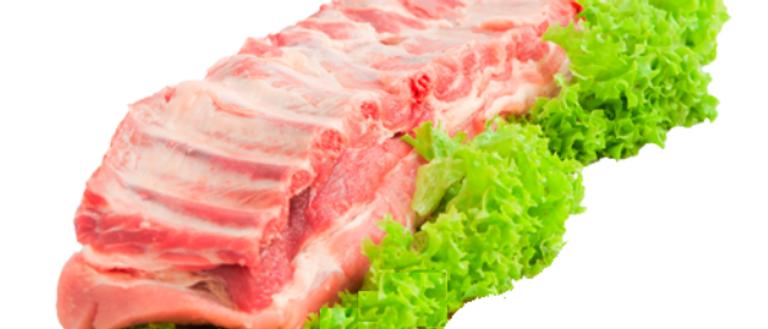 Свиные ребра с прослойкой