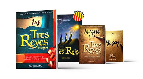Pack Saga Completa con Cuento en Catalán