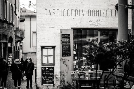 In the Streets of Bergamo