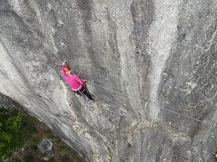 Klettersteig Pietro Biasini