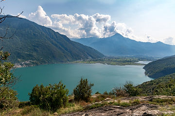 Wanderung Lago di Mezzola