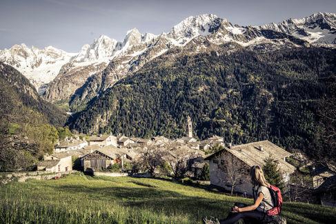 Blick auf das Val Bondasca