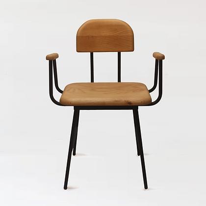 木下鉄也。白臘木椅 + j。柄