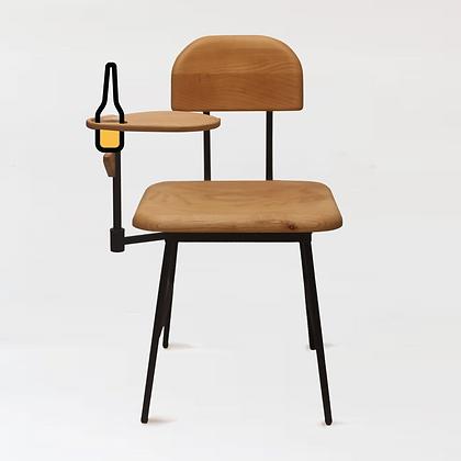 木下鉄也。白臘木椅 +珈琲枱。三六零