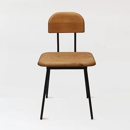 木下鉄也。白臘木椅