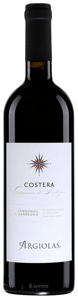 Cannonau Costera - Argiolas 0,75LT