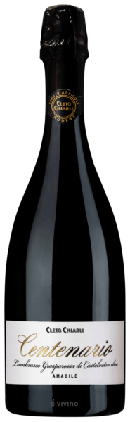 Centenario Lambrusco Grasparossa - Cleto Chiarli 0,75LT