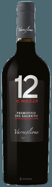 12 e Mezzo Primitivo - Varvaglione 0,75LT