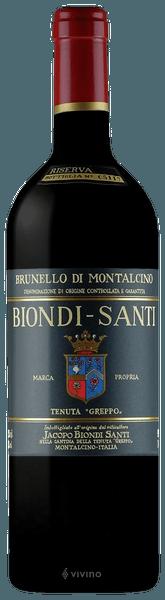 Brunello di Montalcino Riserva - Biondi Santi 0,75LT