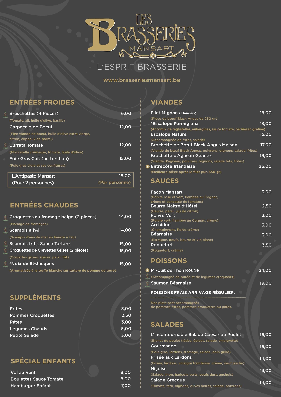 Menu_Brasseries Mansart_A3 11-2017 food (glissé(e)s)