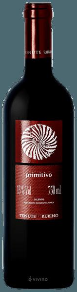 Primitivo Salento - Tenute Rubino 0,75LT