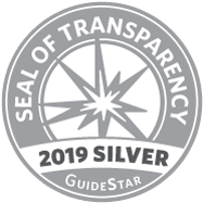 Receiving Guidestar's Silver Seal of Transparency