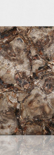 petrified wood brown-beige 1 leather fin