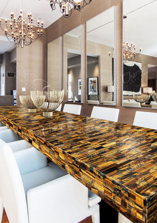 tiger eye gold - blue table top.jpg