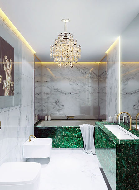 malachite with gold bathroom.jpg
