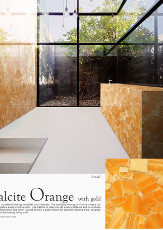 calcite orange with gold bathroom.jpg