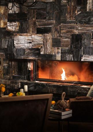 petrified wood black retro fireplace.jpg
