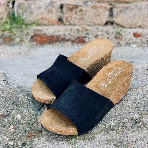VENEZIA NER sandaler