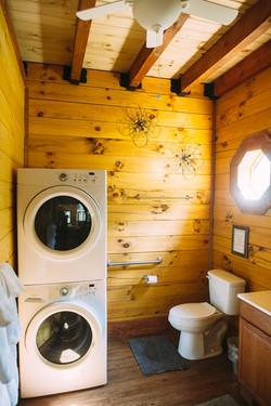 Cuddly Cub - laundry/bathroom area