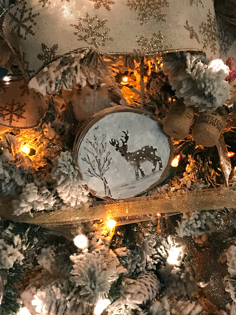 Spotted Fawn 2019 Ornament