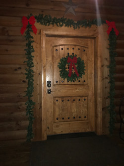Christmas Door Decor