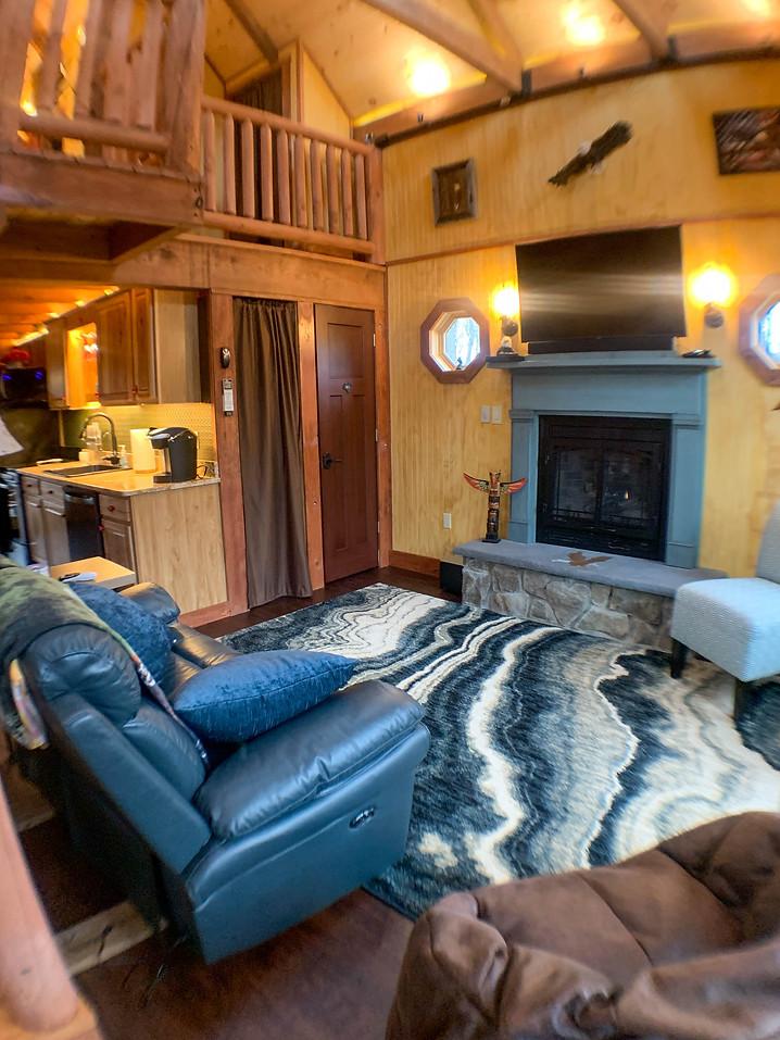 Eagles nest living room