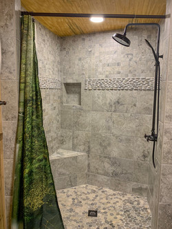 Gorgeous Tiled Shower