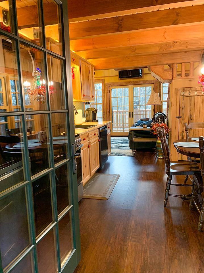 Front Door into Kitchen