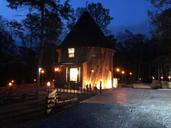 Night Time at Hobbit House