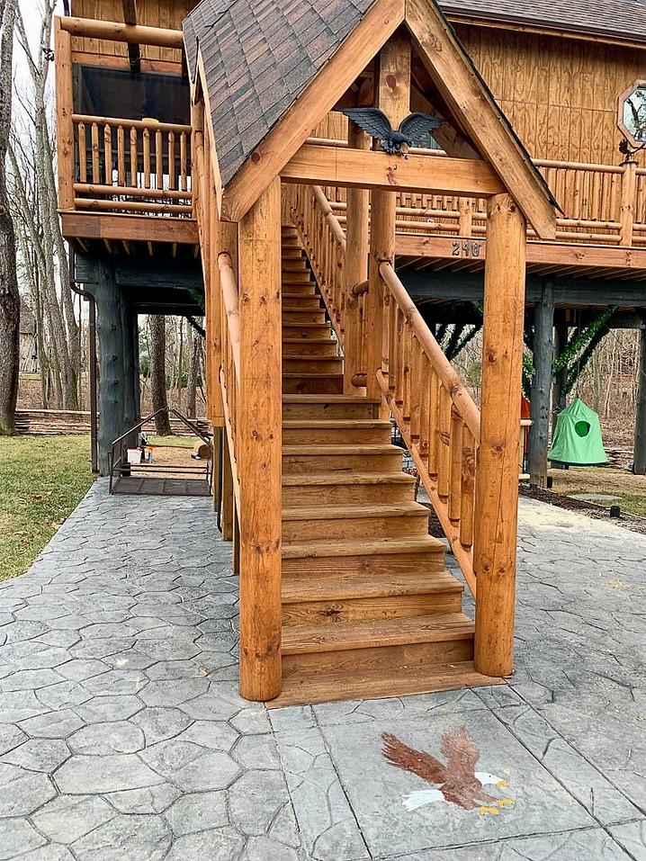 Eagles Nest Stairway