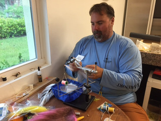 Fly Tying with Capt. Roan Z.