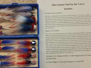 Custom Flies Tied for Take A Solider Fishing