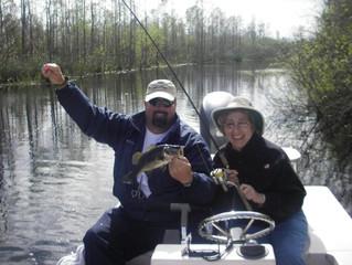 Fishing Forecast South West Florida Freshwater Scene for January