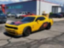 Freddy Kruger Dodge Challenger