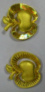 Engraved pendents