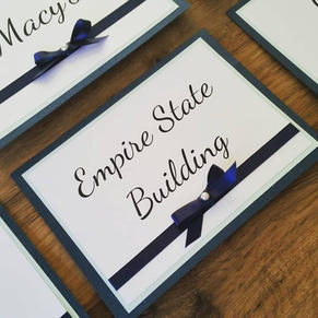 Table names/ Numbers