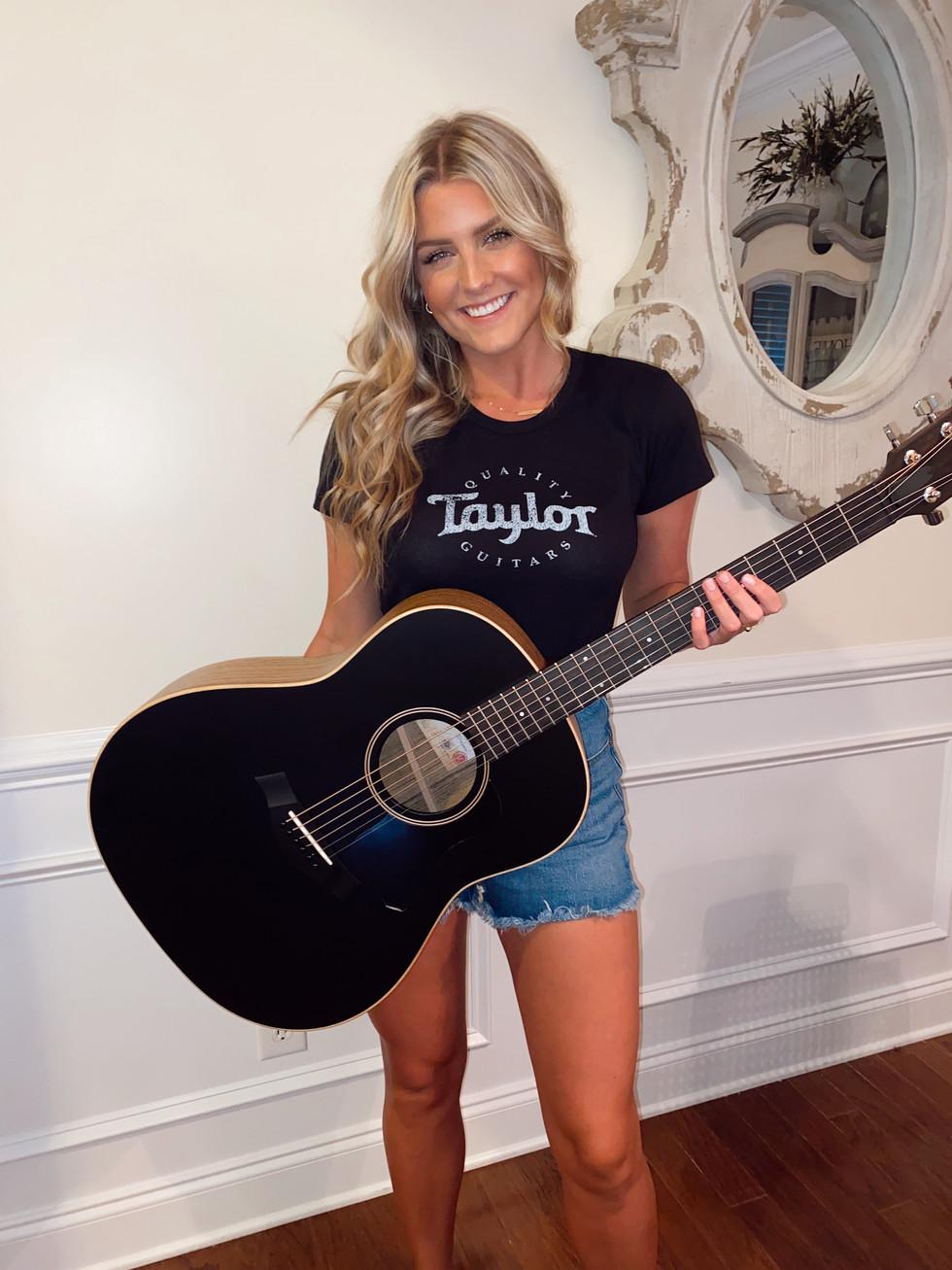 Faith Schueler Sponsored by Taylor Guitars