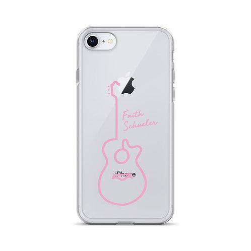 iPhone Case - Pink Guitar