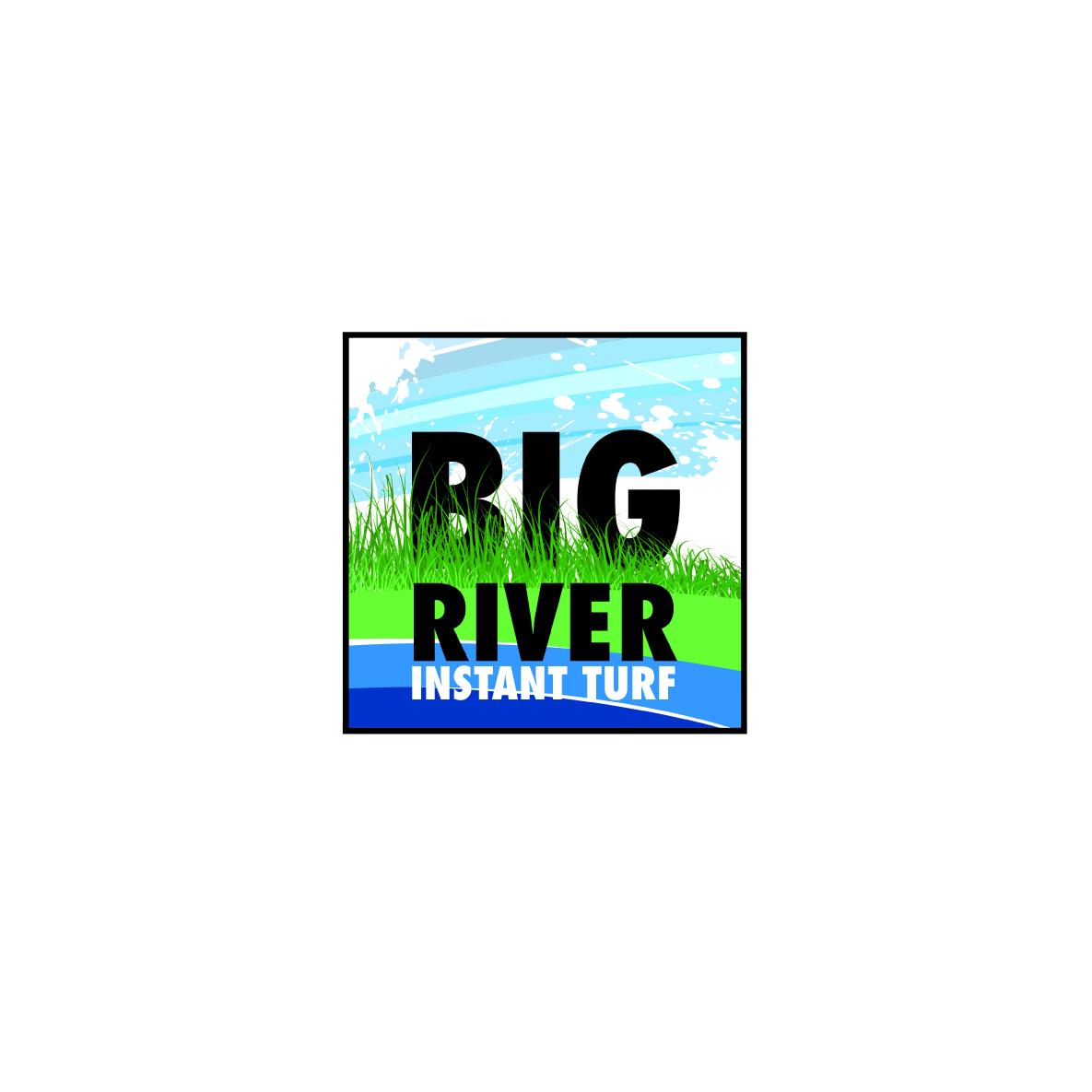 Big River Turf logo-concept