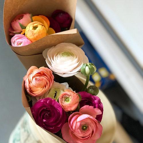 Ranunculus Flower CSA  Subscription