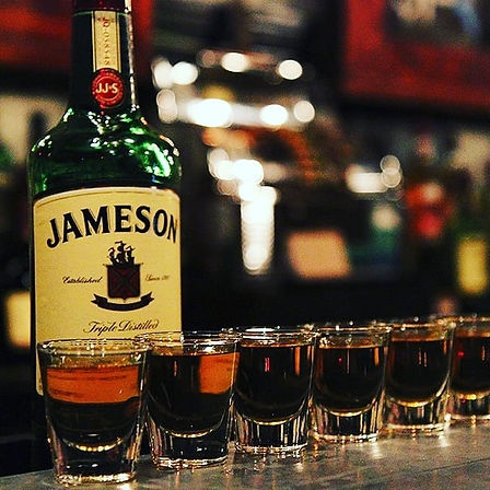 March Madness all month long $5 Jameson