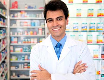 estudante do curso de farmácia