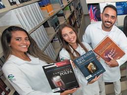 Biblioteca atualiza o acervo com 2.900 novos exemplares