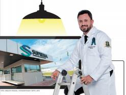 Determinação com alta tensão muda a vida de eletricista