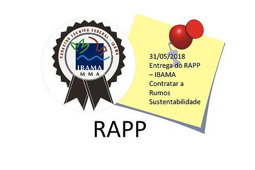 Relatório Anual RAPP IBAMA