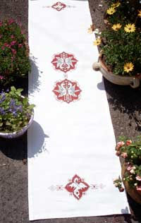 broderie, cross stitch, Assisi