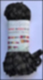 Scheepjes Mini Noodle col 210 noir + anthracite / black + anthracite / schwarz + anthrazit